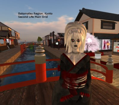 Bakamatsu region, Kyoto, on the Second Life Main Grid