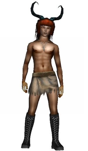 Online World Frenzoo - 3D Avatar of Simon_is_yeti