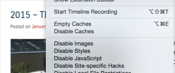 How To View Source HTML In Safari Under Mavericks