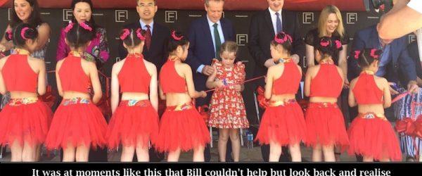 Bill Shorten Gets Cultured