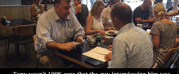 Tony Abbott Meets Steve Bannon