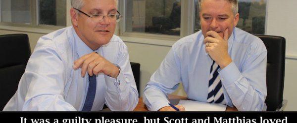 Scott and Mathias' Guilty Pleasure