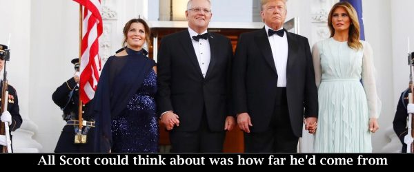 ScoMo's State Dinner Excitement